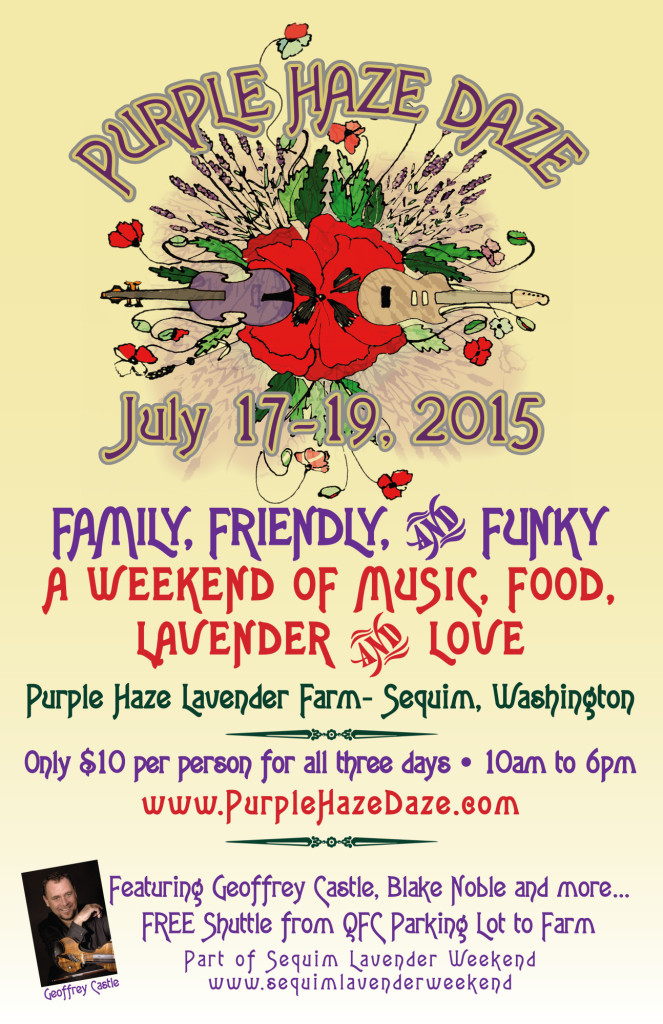 Poster for Purple Haze Daze