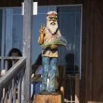 Hippie Greeter Statue