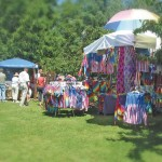 tie-dye vendor at fair
