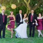 Purple Haze wedding party