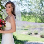 Lavender Farm Bride