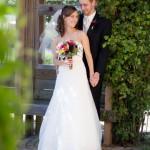wedding couple at Purple Haze