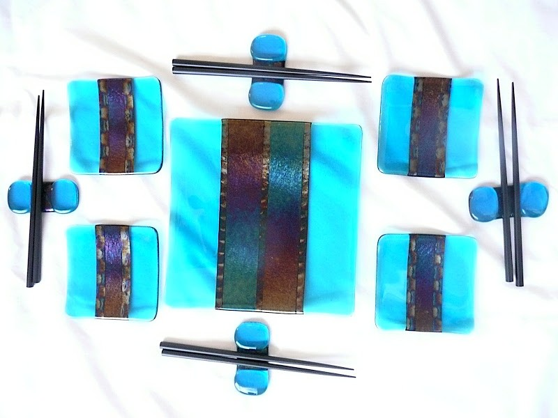 photo of fused glass